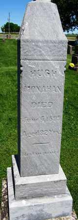 MONAHAN, HUGH - Kewaunee County, Wisconsin | HUGH MONAHAN - Wisconsin Gravestone Photos