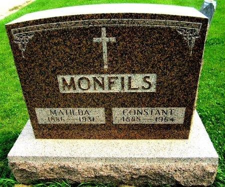 MONFILS, MATILDA - Kewaunee County, Wisconsin | MATILDA MONFILS - Wisconsin Gravestone Photos