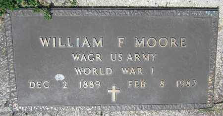 MOORE, WILLIAM F. - Kewaunee County, Wisconsin | WILLIAM F. MOORE - Wisconsin Gravestone Photos