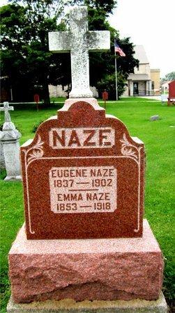 NAZE, EUGENE - Kewaunee County, Wisconsin | EUGENE NAZE - Wisconsin Gravestone Photos
