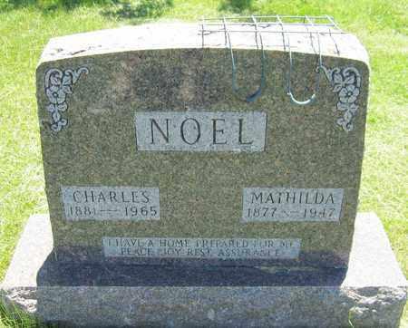 NOEL, MATHILDA - Kewaunee County, Wisconsin | MATHILDA NOEL - Wisconsin Gravestone Photos