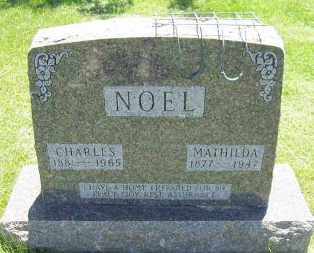 NOEL, MATHILDA - Kewaunee County, Wisconsin | MATHILDA NOEL - Wisconsin Gravestone Photos