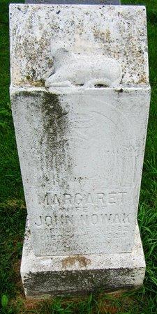 NOWAK, MARGARET - Kewaunee County, Wisconsin   MARGARET NOWAK - Wisconsin Gravestone Photos