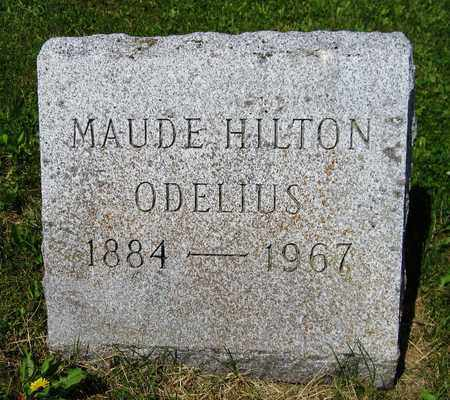 HILTON ODELIUS, MAUDE - Kewaunee County, Wisconsin   MAUDE HILTON ODELIUS - Wisconsin Gravestone Photos