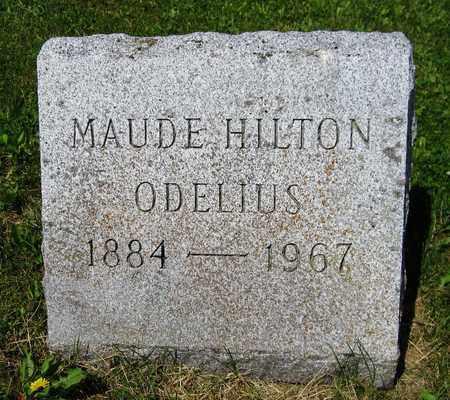 HILTON ODELIUS, MAUDE - Kewaunee County, Wisconsin | MAUDE HILTON ODELIUS - Wisconsin Gravestone Photos