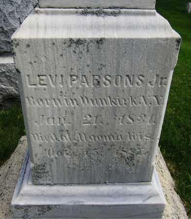 PARSONS, LEVI, JR. - Kewaunee County, Wisconsin | LEVI, JR. PARSONS - Wisconsin Gravestone Photos