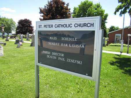 PETER, SAINT - Kewaunee County, Wisconsin   SAINT PETER - Wisconsin Gravestone Photos