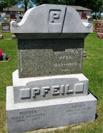 PFEIL, VALENTIN G. - Kewaunee County, Wisconsin | VALENTIN G. PFEIL - Wisconsin Gravestone Photos