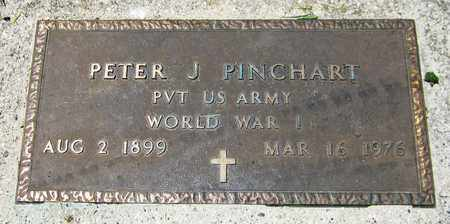 PINCHART, PETER J. - Kewaunee County, Wisconsin | PETER J. PINCHART - Wisconsin Gravestone Photos