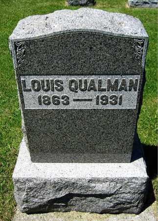 QUALMAN, LOUIS - Kewaunee County, Wisconsin | LOUIS QUALMAN - Wisconsin Gravestone Photos