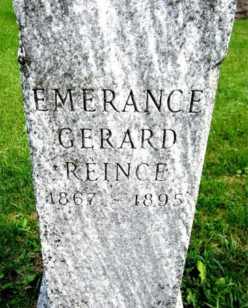 REINCE, EMERANCE - Kewaunee County, Wisconsin | EMERANCE REINCE - Wisconsin Gravestone Photos