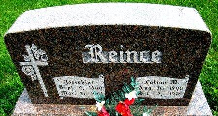 REINCE, FABIAN - Kewaunee County, Wisconsin   FABIAN REINCE - Wisconsin Gravestone Photos