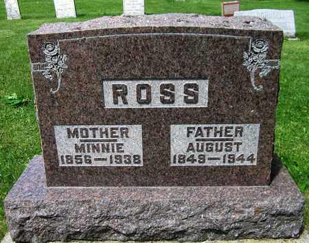 ROSS, AUGUST - Kewaunee County, Wisconsin   AUGUST ROSS - Wisconsin Gravestone Photos