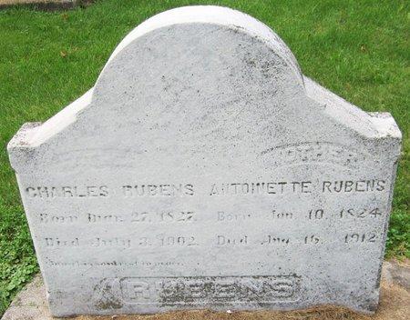RUBENS, CHARLES - Kewaunee County, Wisconsin   CHARLES RUBENS - Wisconsin Gravestone Photos