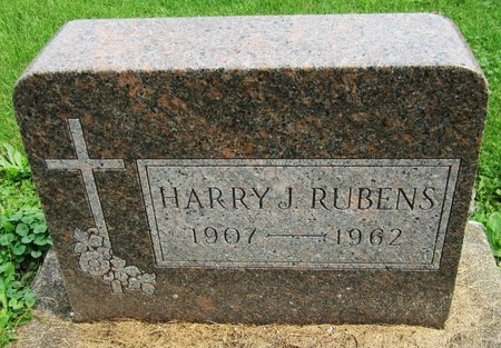 RUBENS, HARRY - Kewaunee County, Wisconsin | HARRY RUBENS - Wisconsin Gravestone Photos