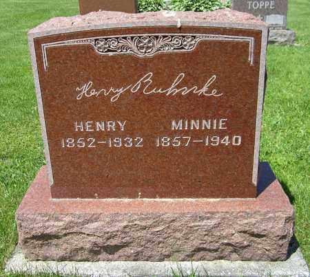 RUHNKE, HENRY - Kewaunee County, Wisconsin | HENRY RUHNKE - Wisconsin Gravestone Photos