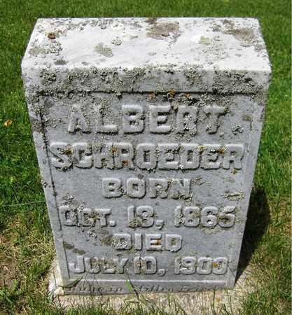 SCHROEDER, ALBERT - Kewaunee County, Wisconsin | ALBERT SCHROEDER - Wisconsin Gravestone Photos