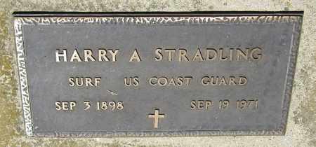 STRADLING, HARRY A. - Kewaunee County, Wisconsin | HARRY A. STRADLING - Wisconsin Gravestone Photos