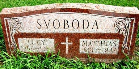 SVOBODA, LUCY - Kewaunee County, Wisconsin | LUCY SVOBODA - Wisconsin Gravestone Photos