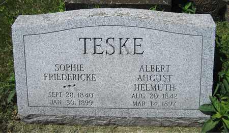 TESKE, SOPHIE - Kewaunee County, Wisconsin   SOPHIE TESKE - Wisconsin Gravestone Photos