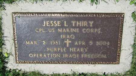 THIRY, JESSE L. - Kewaunee County, Wisconsin | JESSE L. THIRY - Wisconsin Gravestone Photos