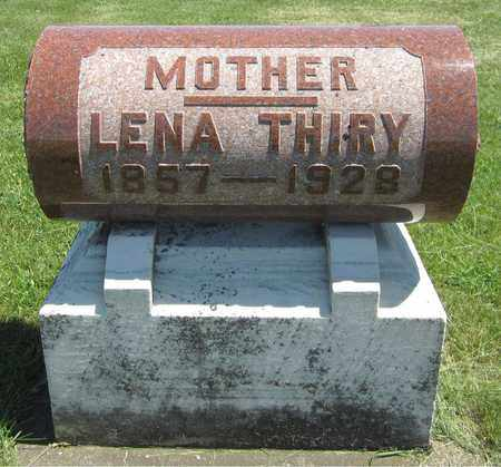 THIRY, LENA - Kewaunee County, Wisconsin | LENA THIRY - Wisconsin Gravestone Photos