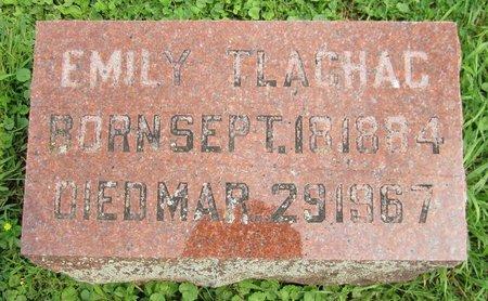 TLACHAC, EMILY - Kewaunee County, Wisconsin | EMILY TLACHAC - Wisconsin Gravestone Photos