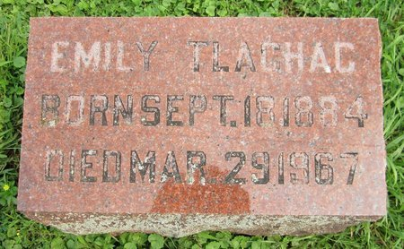 TLACHAC, EMILY - Kewaunee County, Wisconsin | EMILY TLACHAC - Wisconsin Gravestone Photos