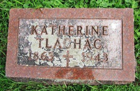 TLACHAC, KATHERINE - Kewaunee County, Wisconsin | KATHERINE TLACHAC - Wisconsin Gravestone Photos