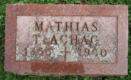 TLACHAC, MATHIAS - Kewaunee County, Wisconsin | MATHIAS TLACHAC - Wisconsin Gravestone Photos