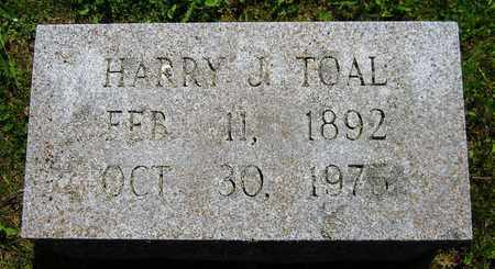 TOAL, HARRY J. - Kewaunee County, Wisconsin | HARRY J. TOAL - Wisconsin Gravestone Photos