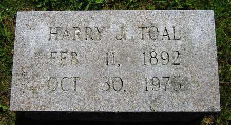 TOAL, HARRY J. - Kewaunee County, Wisconsin | HARRY J. TOAL - Wisconsin Gravestone Photos