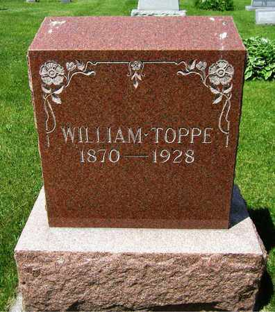 TOPPE, WILLIAM - Kewaunee County, Wisconsin | WILLIAM TOPPE - Wisconsin Gravestone Photos