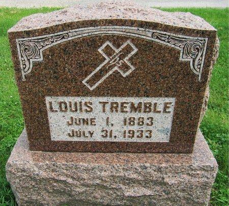 TREMBLE, LOUIS - Kewaunee County, Wisconsin | LOUIS TREMBLE - Wisconsin Gravestone Photos