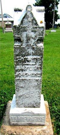 VANDERMEISE, ANTON - Kewaunee County, Wisconsin | ANTON VANDERMEISE - Wisconsin Gravestone Photos