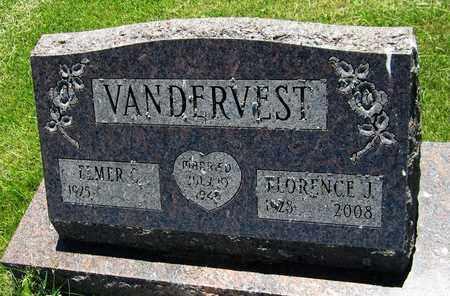 VANDERVEST, FLORENCE J. - Kewaunee County, Wisconsin | FLORENCE J. VANDERVEST - Wisconsin Gravestone Photos