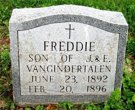 VANGINDERTALEN, FREDDIE - Kewaunee County, Wisconsin | FREDDIE VANGINDERTALEN - Wisconsin Gravestone Photos