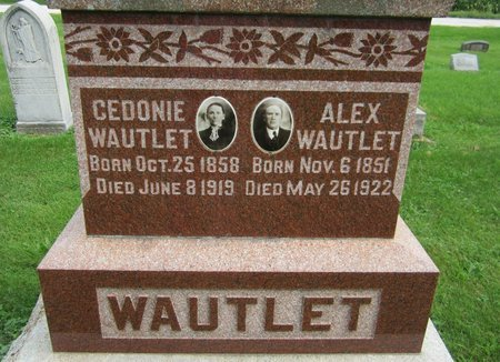 WAULET, ALEX - Kewaunee County, Wisconsin | ALEX WAULET - Wisconsin Gravestone Photos
