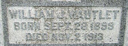 WAUTLET, WILLIAM J. - Kewaunee County, Wisconsin   WILLIAM J. WAUTLET - Wisconsin Gravestone Photos