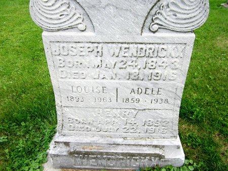 WENDRICKX, HENRY - Kewaunee County, Wisconsin | HENRY WENDRICKX - Wisconsin Gravestone Photos