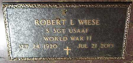 WIESE, ROBERT L. - Kewaunee County, Wisconsin | ROBERT L. WIESE - Wisconsin Gravestone Photos