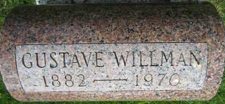 WILLMAN, GUSTAVE - Kewaunee County, Wisconsin | GUSTAVE WILLMAN - Wisconsin Gravestone Photos