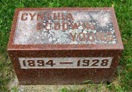 GOODWIN YOUNG, CYNTHIA - Kewaunee County, Wisconsin | CYNTHIA GOODWIN YOUNG - Wisconsin Gravestone Photos