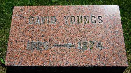 YOUNGS, DAVID - Kewaunee County, Wisconsin   DAVID YOUNGS - Wisconsin Gravestone Photos