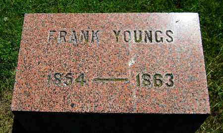 YOUNGS, FRANK - Kewaunee County, Wisconsin | FRANK YOUNGS - Wisconsin Gravestone Photos