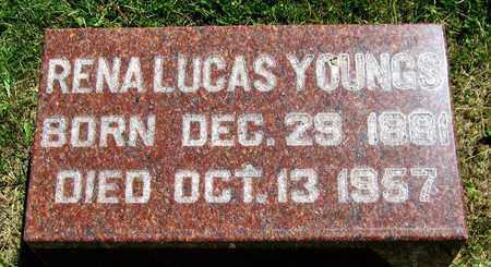 LUCAS YOUNGS, RENA - Kewaunee County, Wisconsin | RENA LUCAS YOUNGS - Wisconsin Gravestone Photos
