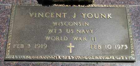 YOUNK, VINCENT J. - Kewaunee County, Wisconsin | VINCENT J. YOUNK - Wisconsin Gravestone Photos