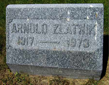 ZLATNIK, ARNOLD - Kewaunee County, Wisconsin | ARNOLD ZLATNIK - Wisconsin Gravestone Photos
