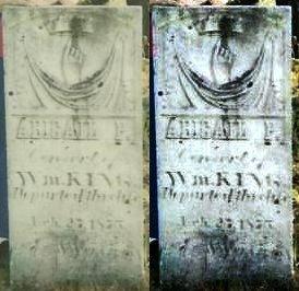 KING 108756585, ABIGAIL P - Lafayette County, Wisconsin | ABIGAIL P KING 108756585 - Wisconsin Gravestone Photos