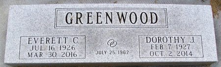 GREENWOOD, DOROTHY J. - Rock County, Wisconsin | DOROTHY J. GREENWOOD - Wisconsin Gravestone Photos